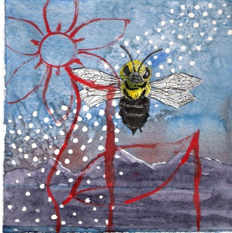 Jupiter and the Bee (sold)