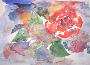 Drowning Rose (sold)