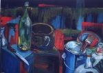 Still Life with Knife (sold)